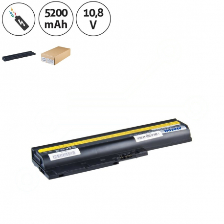 Lenovo ThinkPad R60e 0656 Baterie pro notebook - 5200mAh 6 článků + doprava zdarma + zprostředkování servisu v ČR