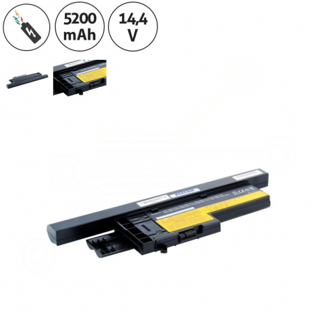 Lenovo ThinkPad X61 Baterie pro notebook - 5200mAh 8 článků + doprava zdarma + zprostředkování servisu v ČR