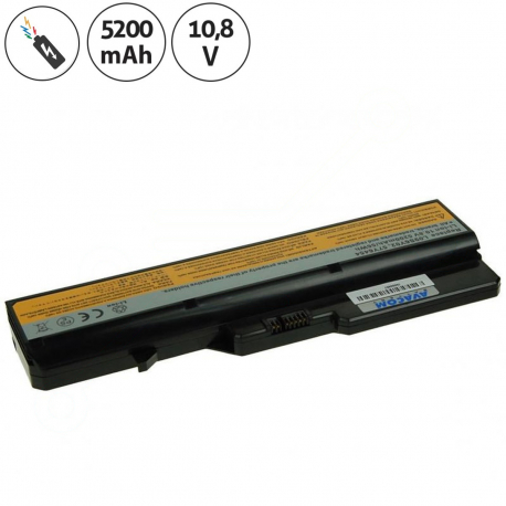 Lenovo IdeaPad G770 Baterie pro notebook - 5200mAh 6 článků + doprava zdarma + zprostředkování servisu v ČR