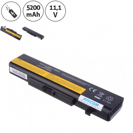 Lenovo G580 Baterie pro notebook - 5200mAh 6 článků + doprava zdarma + zprostředkování servisu v ČR