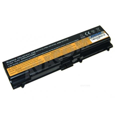 Lenovo ThinkPad T520 Baterie pro notebook - 5200mAh 6 článků + doprava zdarma + zprostředkování servisu v ČR