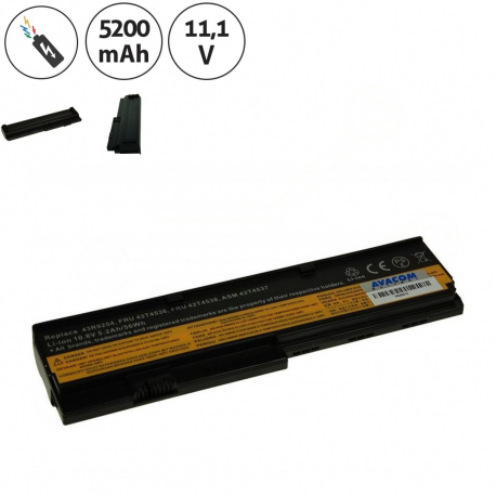 Lenovo ThinkPad X200 Baterie pro notebook - 5200mAh 6 článků + doprava zdarma + zprostředkování servisu v ČR