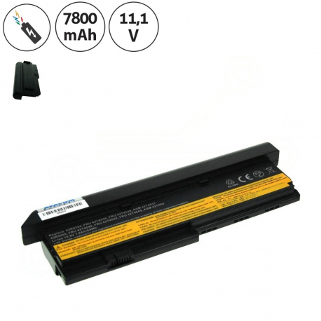 Lenovo ThinkPad X200 Baterie pro notebook - 7800mAh 9 článků + doprava zdarma + zprostředkování servisu v ČR
