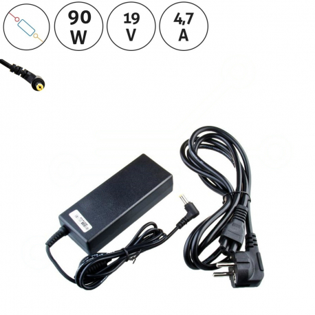 Packard Bell EasyNote TSX66 Adaptér - Napájecí zdroj pro notebook - 19V 4,7A + zprostředkování servisu v ČR