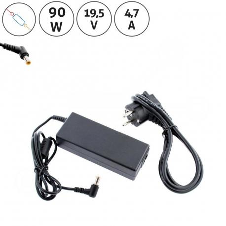 Sony Vaio VGN-SR19VN Adaptér - Napájecí zdroj pro notebook - 19,5V 4,7A + zprostředkování servisu v ČR