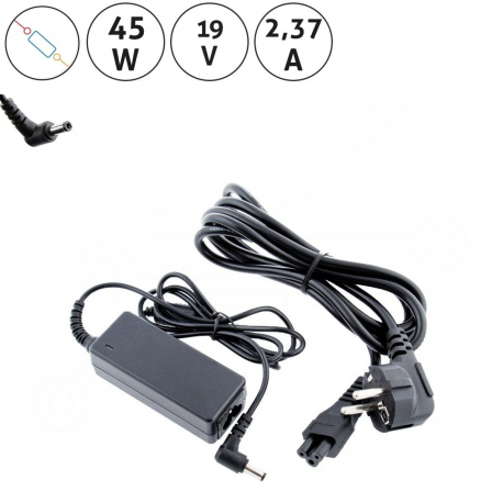 Toshiba Mini Notebook NB205-N312/BL Adaptér pro notebook - 19V 2,37A + zprostředkování servisu v ČR