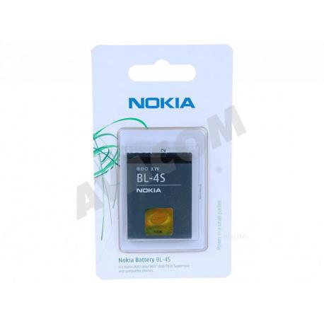 NOKIA BL-4S Baterie pro mobilní telefon - 860mAh + zprostředkování servisu v ČR