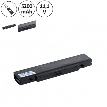 Samsung r65 wip 5500 Baterie pro notebook - 5200mAh 6 článků + doprava zdarma + zprostředkování servisu v ČR