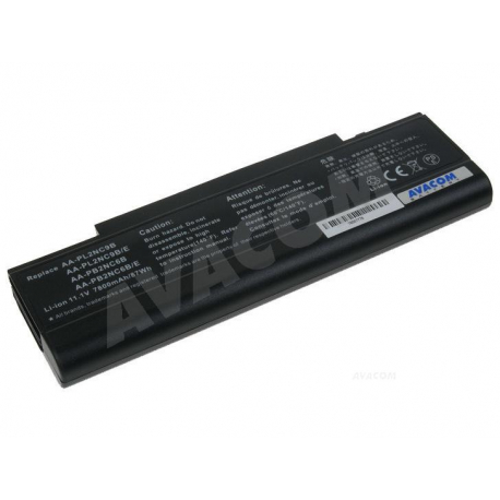 Samsung r40 xip 5500 Baterie pro notebook - 7800mAh 9 článků + doprava zdarma + zprostředkování servisu v ČR