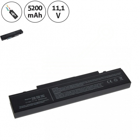 Samsung np-p580-ja02 Baterie pro notebook - 5200mAh 6 článků + doprava zdarma + zprostředkování servisu v ČR