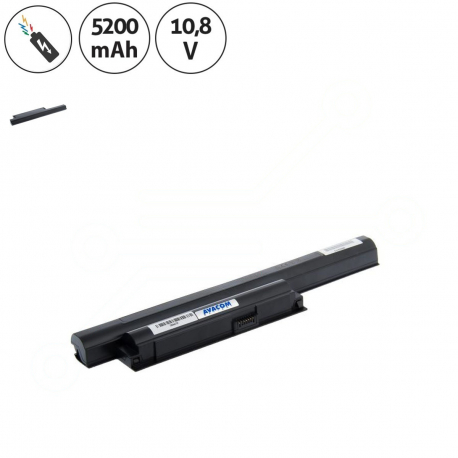 Sony Vaio VPCEA13EHL Baterie pro notebook - 5200mAh 6 článků + doprava zdarma + zprostředkování servisu v ČR