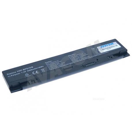 Sony Vaio vgn-p11z/r Baterie pro notebook - 2400mAh + doprava zdarma + zprostředkování servisu v ČR