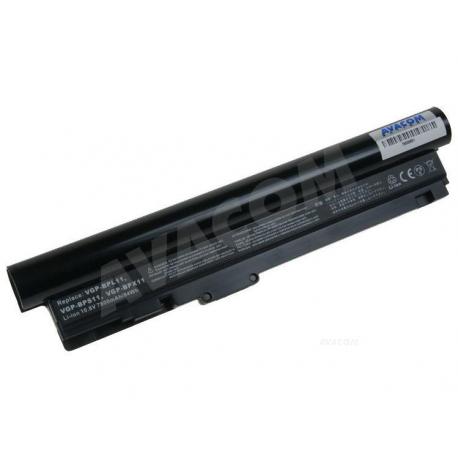 SONY VGP-BPX11 Baterie pro notebook - 7800mAh 9 článků + doprava zdarma + zprostředkování servisu v ČR