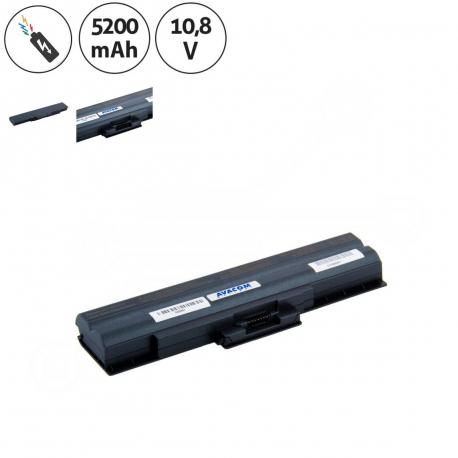Sony Vaio VGN-SR130EB Baterie pro notebook - 5200mAh 6 článků + doprava zdarma + zprostředkování servisu v ČR