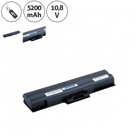 Sony Vaio VGN-SR38/B Baterie pro notebook - 5200mAh 6 článků + doprava zdarma + zprostředkování servisu v ČR