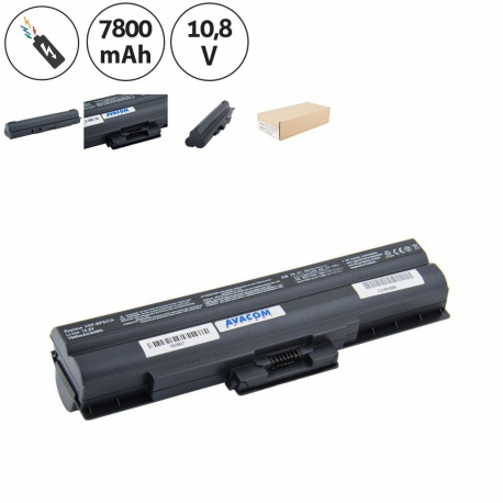 Sony Vaio VGN-SR38/J Baterie pro notebook - 7800mAh 9 článků + doprava zdarma + zprostředkování servisu v ČR