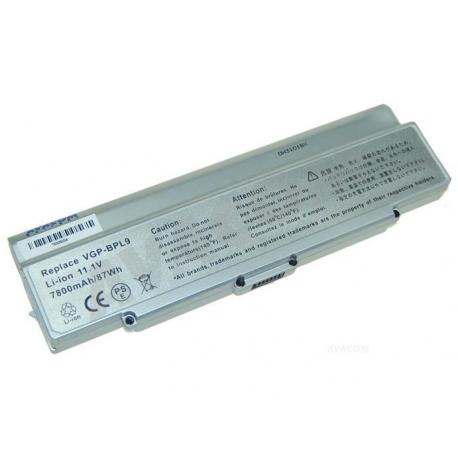 Sony Vaio VGN-CR11ZR Baterie pro notebook - 7800mAh 9 článků + doprava zdarma + zprostředkování servisu v ČR