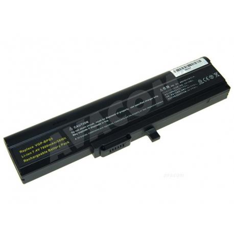 Sony Vaio vgn-tx3xp/l Baterie pro notebook - 7800mAh 6 článků + doprava zdarma + zprostředkování servisu v ČR