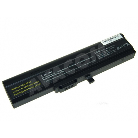 Sony Vaio VGN-TX1HP Baterie pro notebook - 7800mAh 6 článků + doprava zdarma + zprostředkování servisu v ČR