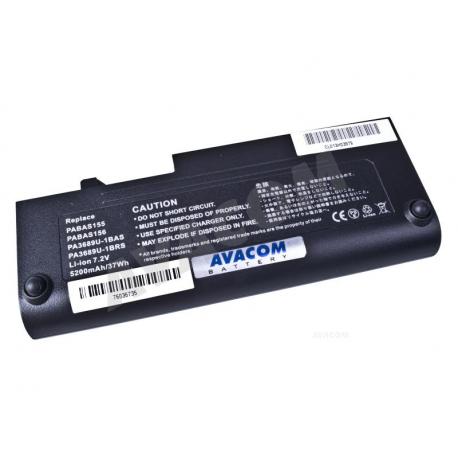 Toshiba nb100 Mini Baterie pro notebook - 5200mAh 4 články + doprava zdarma + zprostředkování servisu v ČR
