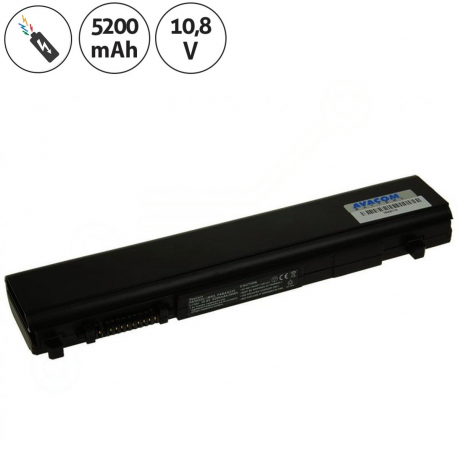 Toshiba Portege r700-1dj Baterie pro notebook - 5200mAh 6 článků + doprava zdarma + zprostředkování servisu v ČR
