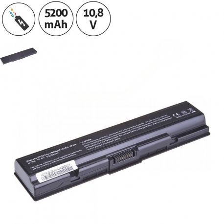 Toshiba Satellite L300 Baterie pro notebook - 5200mAh 6 článků + doprava zdarma + zprostředkování servisu v ČR