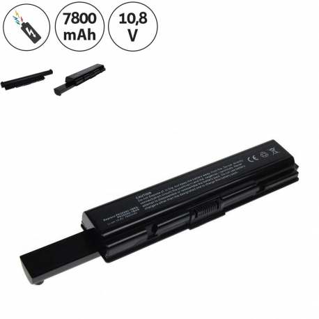Toshiba Satellite a300-1r2 Baterie pro notebook - 7800mAh 9 článků + doprava zdarma + zprostředkování servisu v ČR