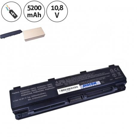 Toshiba Satellite c850-1d2 Baterie pro notebook - 5200mAh 6 článků + doprava zdarma + zprostředkování servisu v ČR