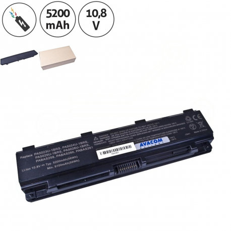 Toshiba Satellite c855-1e7 Baterie pro notebook - 5200mAh 6 článků + doprava zdarma + zprostředkování servisu v ČR