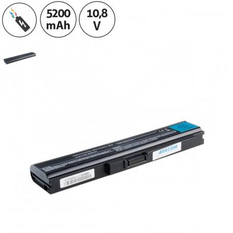 Toshiba Satellite u300-134 Baterie pro notebook - 5200mAh 6 článků + doprava zdarma + zprostředkování servisu v ČR
