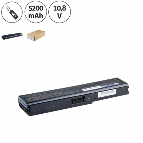 Toshiba Satellite u500-1cn Baterie pro notebook - 5200mAh 6 článků + doprava zdarma + zprostředkování servisu v ČR