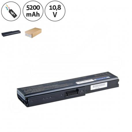 Toshiba Satellite C650 Baterie pro notebook - 5200mAh 6 článků + doprava zdarma + zprostředkování servisu v ČR