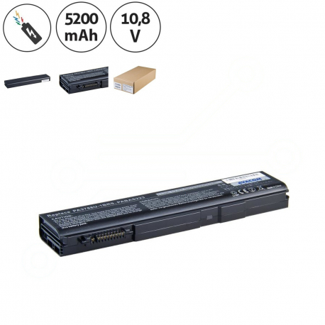 Toshiba Tecra s11-124 Baterie pro notebook - 5200mAh 6 článků + doprava zdarma + zprostředkování servisu v ČR