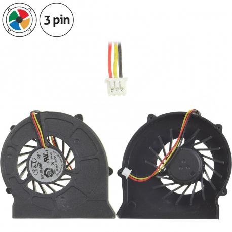 MSI MS-1651 Ventilátor pro notebook - 3 piny plast + zprostředkování servisu v ČR