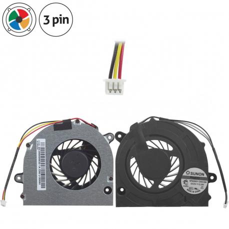DC280004TF0 Ventilátor pro notebook - 3 piny kovový kryt vrtule ( na 4 šroubkách ) 3 díry na šroubky + zprostředkování servisu v ČR