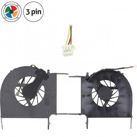 HP Pavilion dv7 Ventilátor pro notebook - 3 piny celý z plastu + zprostředkování servisu v ČR