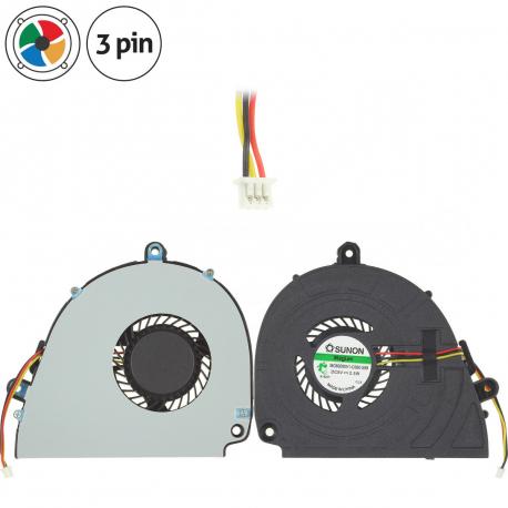 Packard Bell EasyNote LS11 Ventilátor pro notebook - 3 piny vrtule je uvnitř + zprostředkování servisu v ČR
