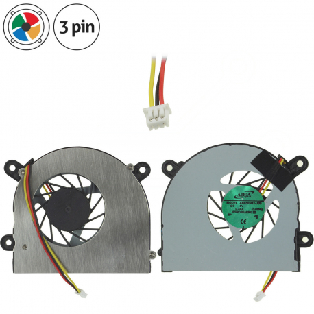 MSI MS-16D3 Ventilátor pro notebook - 3 piny metalic / plastic + zprostředkování servisu v ČR
