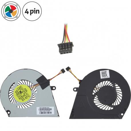HP ENVY 6 Ventilátor pro notebook - 4 piny kov + zprostředkování servisu v ČR