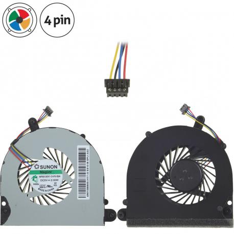 HP EliteBook 8560w Ventilátor pro notebook - 4 piny metalic / plastic + zprostředkování servisu v ČR