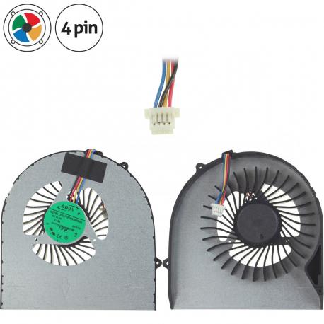 Lenovo IdeaPad V570 Ventilátor pro notebook - 4 piny kov 6 cm + zprostředkování servisu v ČR