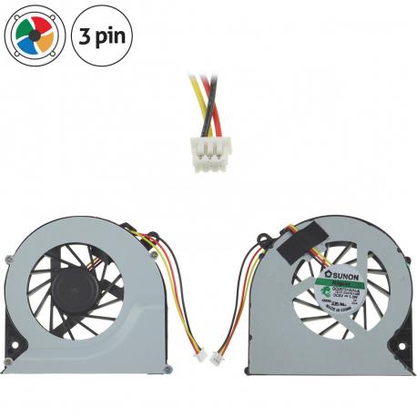 6017B0361601 Ventilátor pro notebook - 3 piny + zprostředkování servisu v ČR