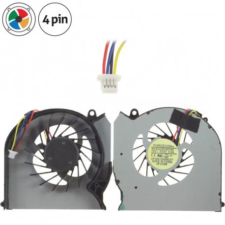 HP ENVY dv7-4000 Ventilátor pro notebook - 4 piny vrtule je odkryta + zprostředkování servisu v ČR