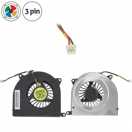 MSI CR700 Ventilátor pro notebook - 3 piny kovový kryt vrtule ( na 4 šroubkách ) 3 díry na šroubky + zprostředkování servisu v ČR
