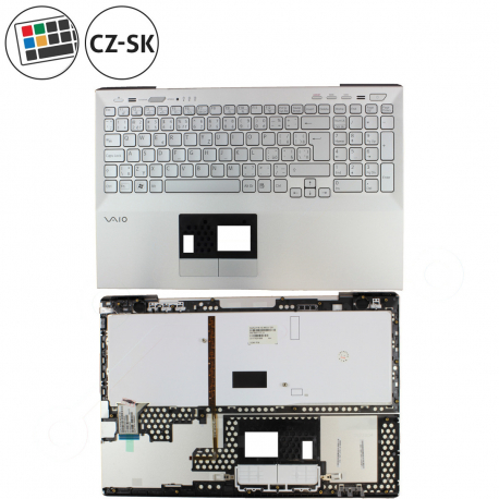 Sony Vaio VPCSE1DGXB Klávesnice s palmrestem pro notebook - CZ / SK + doprava zdarma + zprostředkování servisu v ČR