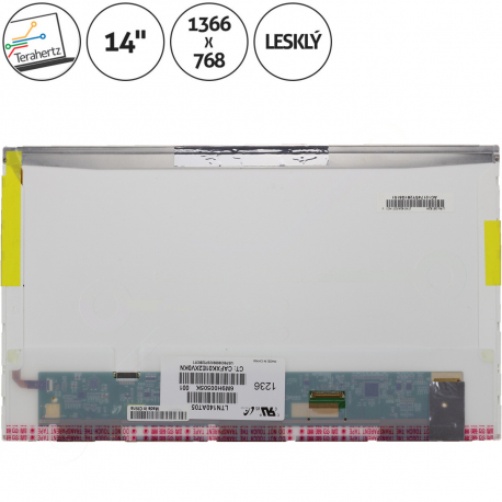 HP EliteBook 8440p Displej pro notebook - 1366 x 768 HD 14 + doprava zdarma + zprostředkování servisu v ČR