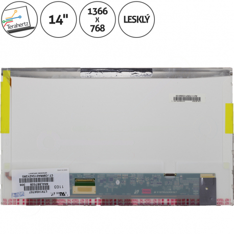 BT140GW01 Displej pro notebook - 1366 x 768 HD 14 + doprava zdarma + zprostředkování servisu v ČR