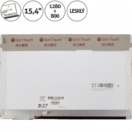 Asus A6R Displej pro notebook - 1280 x 800 15,4 + doprava zdarma + zprostředkování servisu v ČR