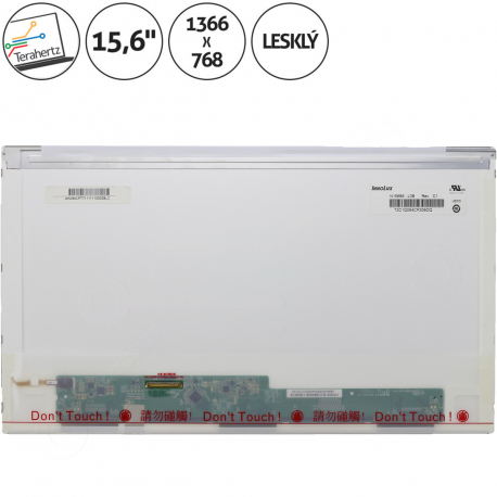 Asus X53SM Displej pro notebook - 1366 x 768 HD 15,6 + doprava zdarma + zprostředkování servisu v ČR