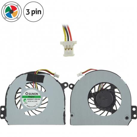 033DN6 Ventilátor pro notebook - 3 piny kovový kryt vrtule ( na 2 šroubkách ) 3 díry na šroubky + zprostředkování servisu v ČR